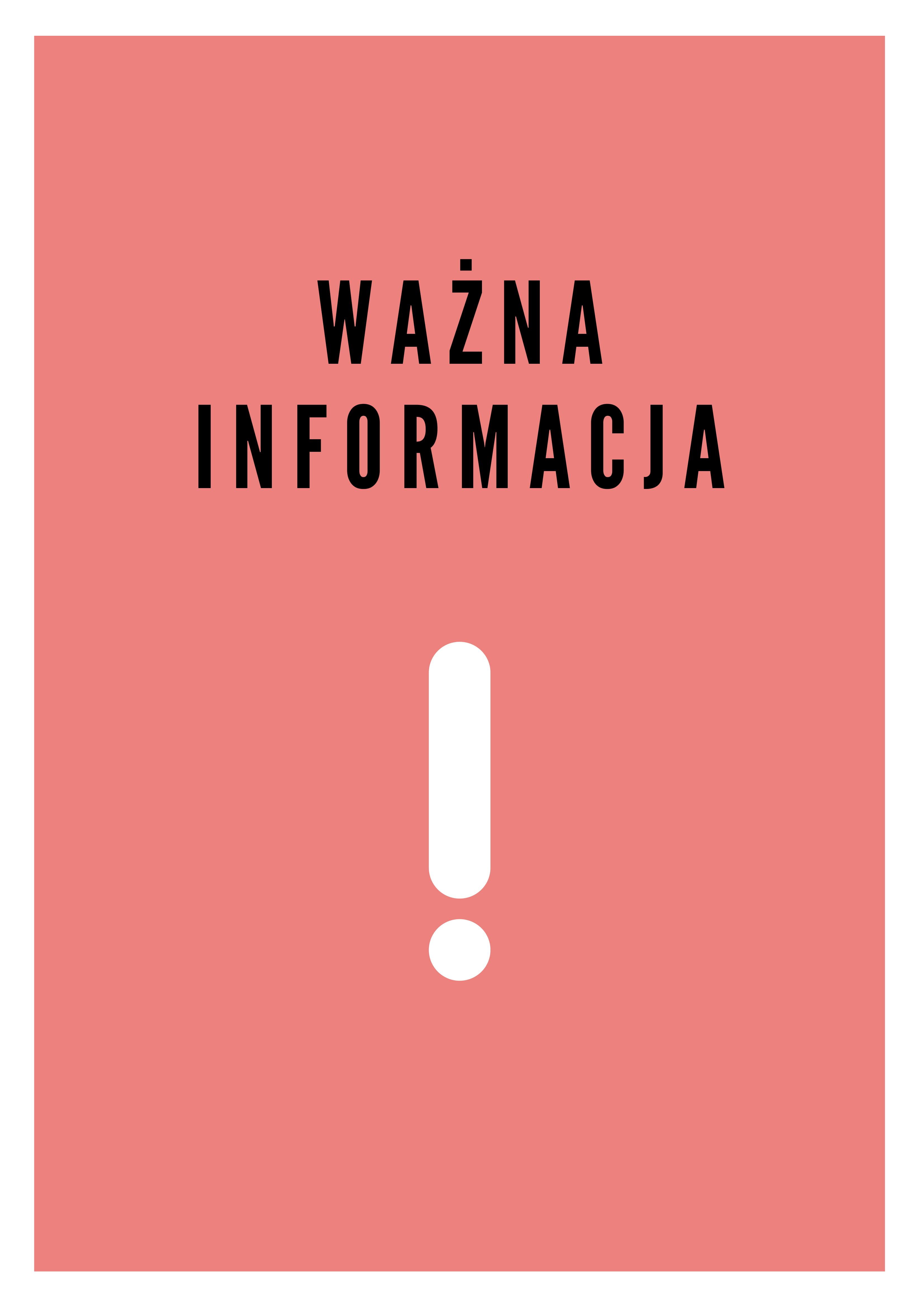 Ważna Informacja-1